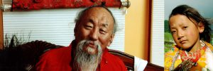 His Eminence Chagdud Tulku Rinpoche and Yangsi