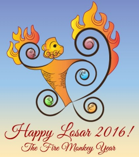 2016 Fire Monkey Year — Wish for Peace
