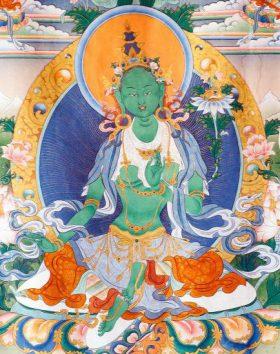 Green Tara Tsog