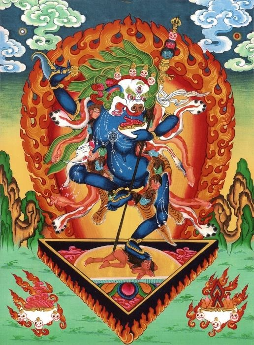 Hong Kong Empowerments: Lion-faced Dakini & Lhamo Palchenmo